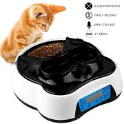 Pet Automatic Food and Water Dispenser with Voice Call