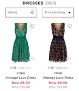 Womens Dresses from £8 at House of Fraser for Black Friday