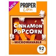 HALF PRICE Propercorn Cinnamon Microwave Popcorn
