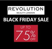 Revolution Beauty - BLACK FRIDAY SALE - up to 75% off - from 75p