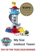 SAVE £30. Paw Patrol My Size Lookout Tower