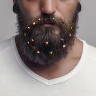 Christmas Fairy Lights for Beards