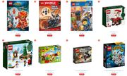 Between 20 and 33% off Selected LEGO and Duplo Sets