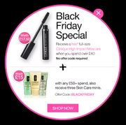 Half Price Gift Sets Exclusively for Black Friday - Clinique
