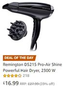 MONDAY DEAL of the DAY: SAVE £11 Remington Pro-Air Shine Powerful Hair Dryer