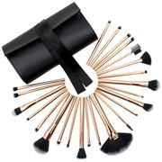 Rio Professional 24 Piece Make-up Brush Set - Rose Gold