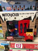 Nutcracker Egg and Soldier Set - Poundland