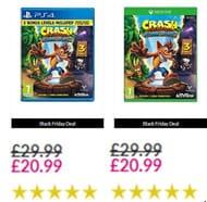 Crash Bandicoot N Sane Trilogy 2.0 - PS4 / XBOX ONE