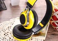 Wireless Folding Bluetooth Headphones with Mic