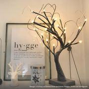 Festive Lights - 45cm Snow Covered Battery Twig Tree Now £6.00 Was £14.99