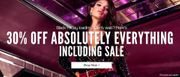 30% off Absolutely EVERYTHING at Boohoo! including Sale