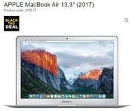"""APPLE MacBook Air 13.3"""" (2017)"""