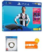 Playstation 4 1TB with FIFA 19 + The Elder Scrolls Online + Now TV (2m)