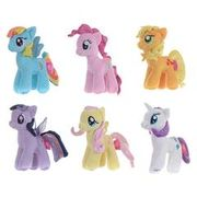 "My Little Pony Famosa Softies 7"" Plush Toy"