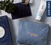 A FREE Full-Size Hand Cream & Christmas Gift Pouch with All Orders £80+