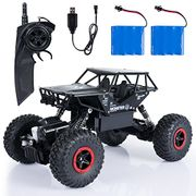 28% off SGILE 1:14 RC Cars with Two Battery - 4WD 2.4Ghz 4x4 Crawlers Off