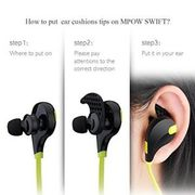 Sports Bluetooth Wireless Earphones Earbuds iPhone at Ebay