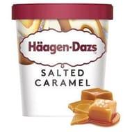 Hagen-Dazs Salted Caramel/Strawberry Cheesecake Ice Cream 460ml £2.10@Iceland
