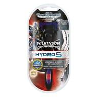 5 x Wilkinson Sword Hydro 5 Transformers Razor worth £54.95 for only £6.94!!