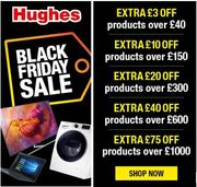 Hughes Black Friday Sale - Get Even More off with These Voucher Codes!