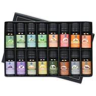 Lagunamoon Essential Oils,Premium Aromatherapy Oils Gift Set of 16