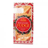 Christmas Rum & Raisin Butter Fudge 180g