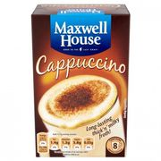 Maxwell House Cappuccino Coffee 8 Pack