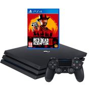 PlayStation 4 Pro 1TB Console with Red Dead Redemption 2 Bundle