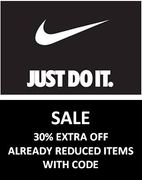 NIKE up to 40% + EXTRA 30% off with CODE - QUICK ENDS FRIDAY!