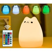Cute Kitty LED Tap Sensitive Light
