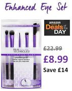 £14 OFF! (THURSDAY 22/11 ONLY) Real Techniques Eye Shadow Make-up Brush Set