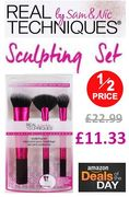HALF PRICE ON THURSDAY! Real Techniques Sculpting Make-up Brushes TODAY ONLY