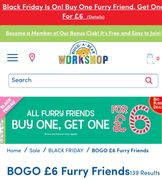 Build a Bear Workshop Black Friday Deals