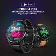 Zeblaze Thor 4 PRO 4G LTE Android Smartwatch with GPS and Sim Card