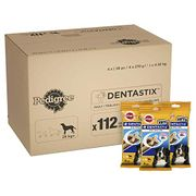 Pedigree DentaStix Daily Dental Chews Dog, 112 Sticks, Large