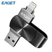 EAGET I66 USB Flash Drive USB-a + Lightening 85%off