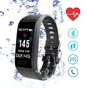 ISENPENK Heart Rate Monitor Tracker with 0.96in OLED Color Screen