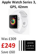 Apple Watch Series 3, GPS, 42mm
