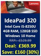 30% OFF Lenovo IdeaPad 320 - SAVE £140