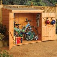 6ft X 3ft Wooden Shiplap Garden Shed