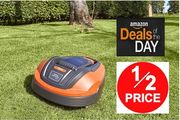 HALF PRICE DEAL of the DAY! Flymo 1200R Lithium-Ion Robotic Lawn Mower