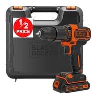 BLACK+DECKER BDCHD18K Combi Hammer Drills-Cordless