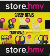 Crazy Deals at HMV up to 80% Off