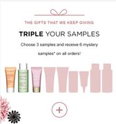 Free 9 CLARINS Samples for ANY ORDER