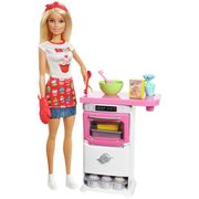 Bargain! Barbie Bakery Chef Doll and Playset at Argos