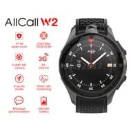 ALLCALL W2 3G Smart Watch Phone 16GB+2GB IP68 Waterproof Heart Rate Monitor