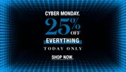 [CYBER MONDAY: 25% off everything.]