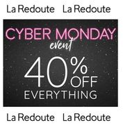 CYBER MONDAY - 40% off EVERYTHING at La Redoute with THIS CODE