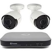 Swann CCTV System: 5MP 1TB HDD DVR Inc. 2x PRO-5MP Bullet Cameras