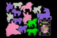 14pcs Shine in the Dark Unicorns